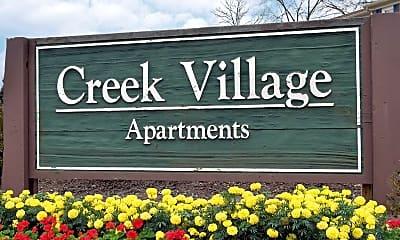 Community Signage, Creek Village Apartments, 2