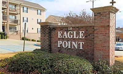 Community Signage, Eagle Point, 2