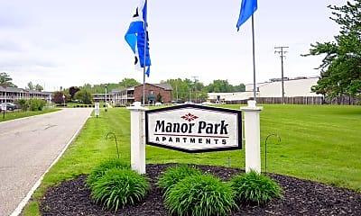 Community Signage, Manor Park, 1