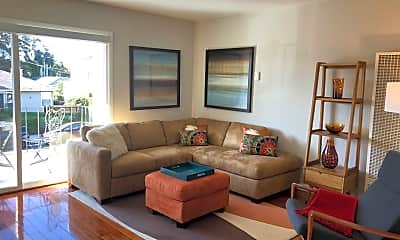 Living Room, 5242 Miles Ave, 1