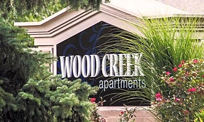Community Signage, Wood Creek Apartments, 1