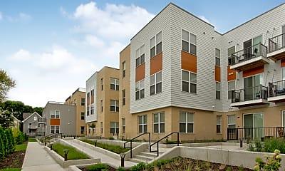 Building, 700 East Apartments, 1