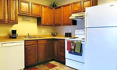 Kitchen, Bison Apartments, 0