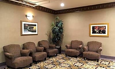 Living Room, The Villa At San Mateo, 2