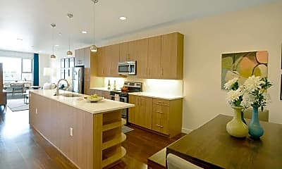 Kitchen, Residences at Fillmore Plaza, 1