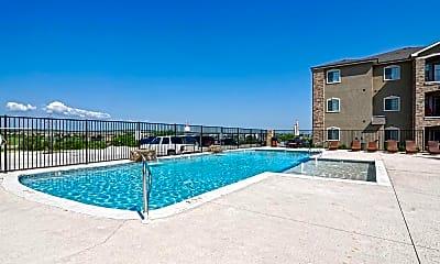 Pool, Gold Creek Apartments, 2