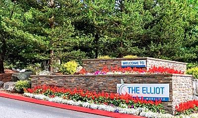 Community Signage, The Elliot at Mukilteo, 1