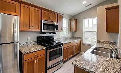 Kitchen, Webster Green Apartments, 1