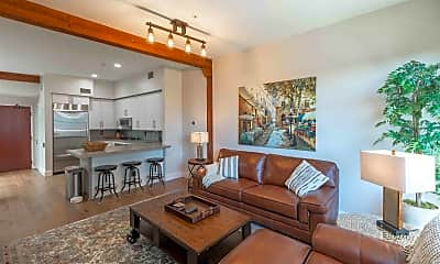 Living Room, 500 W Harbor Dr 1705, 1