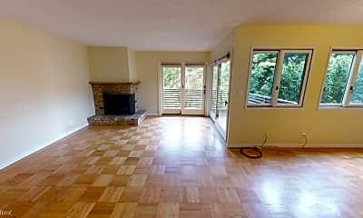 Living Room, 1245 Clayton St, 1