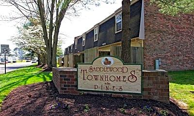 Community Signage, Saddlewood Townhomes, 2