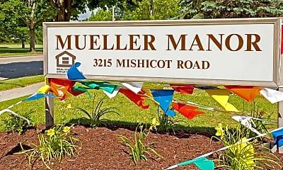 Community Signage, Mueller Manor, 2