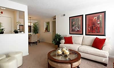Living Room, Hickory Chase, 0