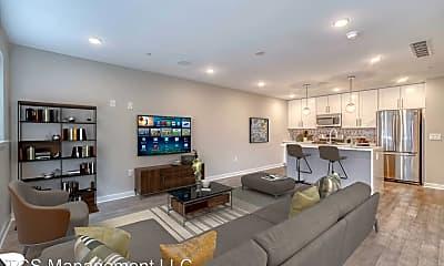 Living Room, 1747 Tilghman St, 0
