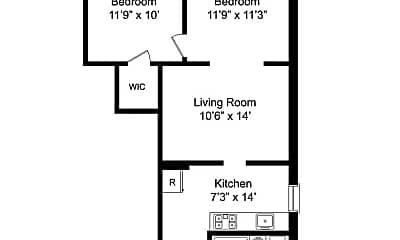 Kitchen, 418 Baldwin Ave, 2