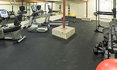 Fitness Weight Room, Bosche Lofts, 2