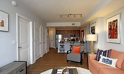 Living Room, Jefferson Marketplace, 1