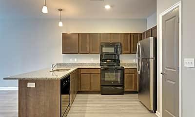 Kitchen, Uptown Flats Memphis, 0