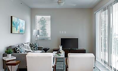 Living Room, The Residences Uptown Boca, 2