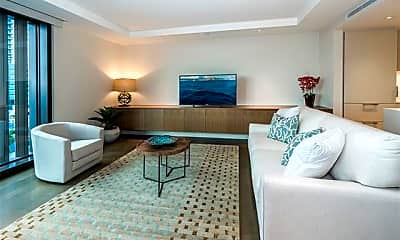 Living Room, 1388 Ala Moana Blvd 1705, 1