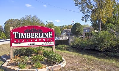 Community Signage, Timberline Apartments, 2
