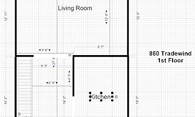 Building, 848 Tradewind Dr, 1