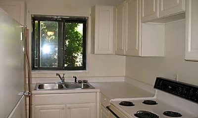 Kitchen, Edgewood Apartments, 2