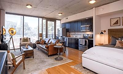 Living Room, 1163 W Peachtree St NE, 1