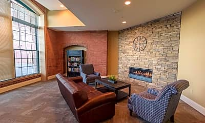 Living Room, Pacific Mill Lofts, 2