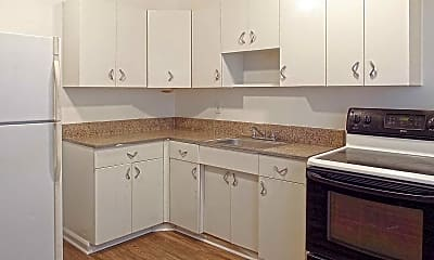 Kitchen, The Rockingham Apartments, 0