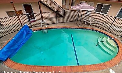 Pool, 1654 Dwight Way, 2
