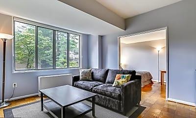 Living Room, 2939 Van Ness St NW 505, 1