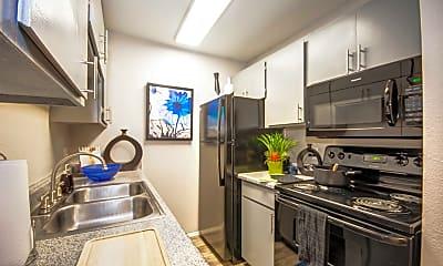 Kitchen, Verde Apartments, 0
