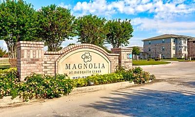 Community Signage, Magnolia at Mesquite Creek, 0