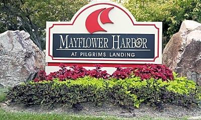Community Signage, Mayflower Harbor, 2