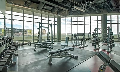 Fitness Weight Room, West 6th, 2