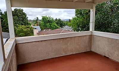 Patio / Deck, 409 W 4th St 1/2, 1