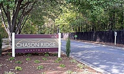 Community Signage, Chason Ridge, 2