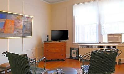 Living Room, Mayfair Court Apartments, 1