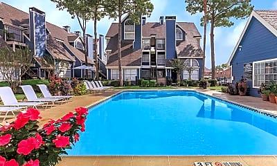 Pool, Brant Rock Condominiums, 1