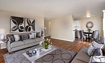 Living Room, Monterey at Lake View Drive, 2