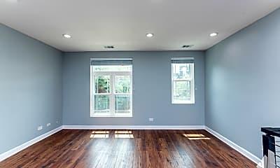 Living Room, 2332 W Warren Blvd 2, 1