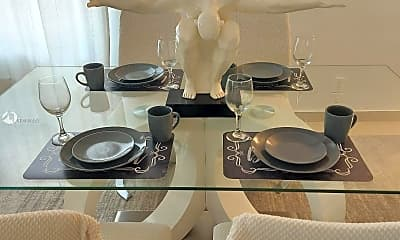 Dining Room, 6767 Indian Creek Dr 2C, 0