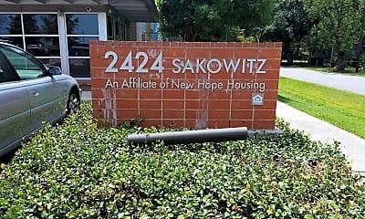 2424 Sakowitz Apartments, 1