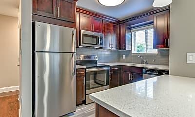Kitchen, Pleasure Bay Apartments, 1