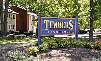 Community Signage, Timbers, 2