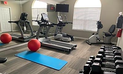 Fitness Weight Room, Timber Ridge, 2