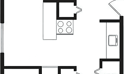 Bedroom, 211 W Springfield Ave, 2