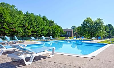 Pool, Avon Mill Apartments, 0