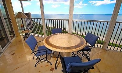 Patio / Deck, 4041 Gulf Shore Blvd N 1501, 1